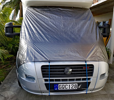 Windscreen cover - front