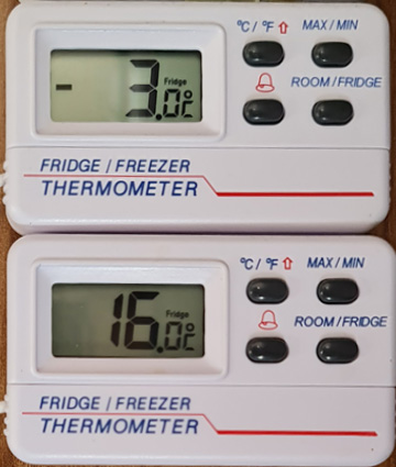 Fridge-Freezer temperatures with bad LPG