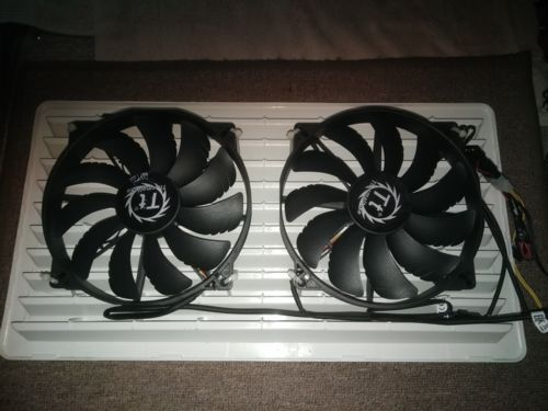 200mm 12V computer fans in parallel