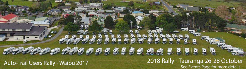 A website for Auto-Trail motorhome owners in New Zealand